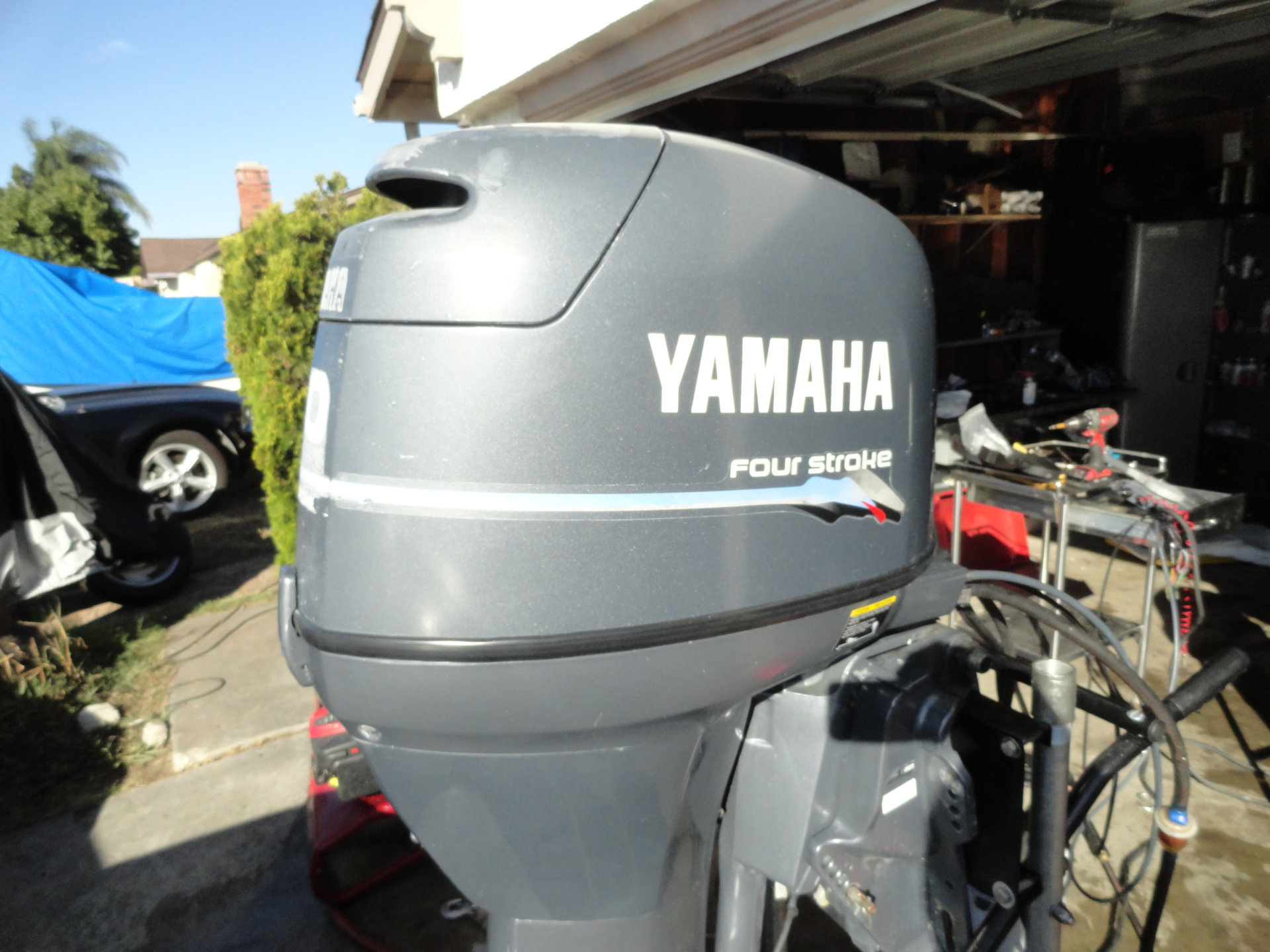 Yamaha f50 fourstroke outboard low hours run great for Yamaha outboard service san diego