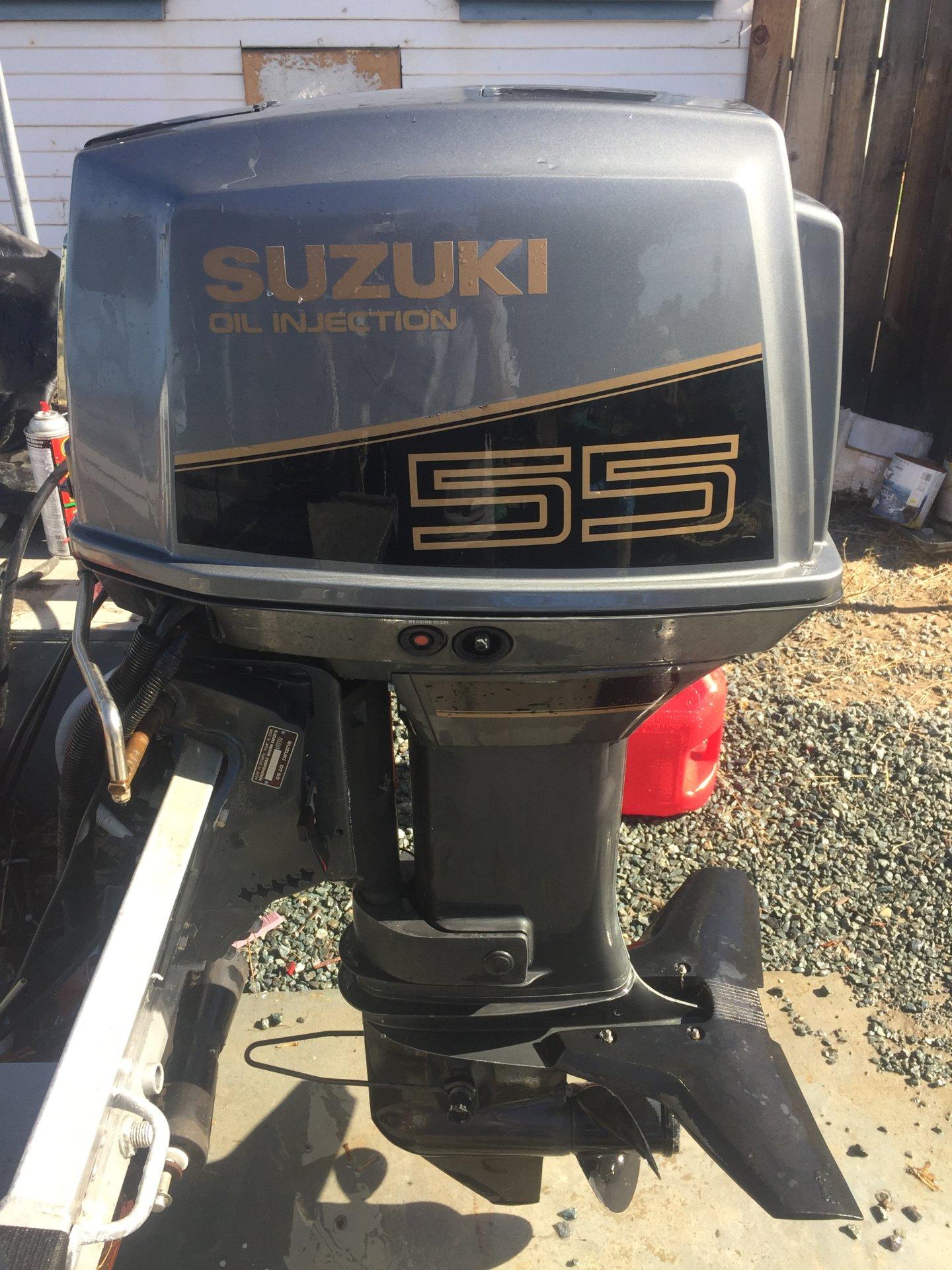 55 HP Suzuki 2 Stoke Outboard * SOLD   Bloodydecks