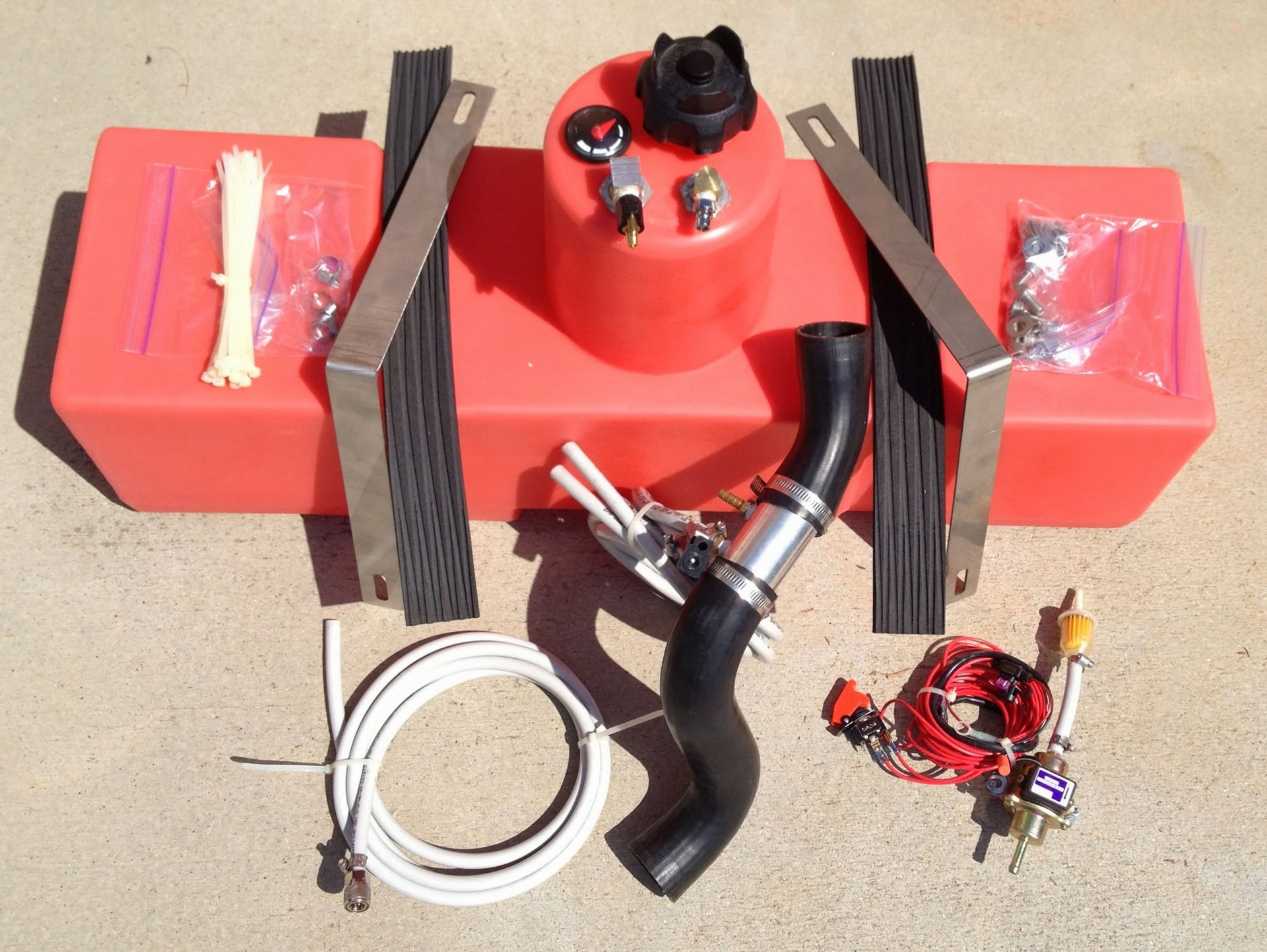 Auxiliary Fuel Transfer Tank For Pwc Caddy Bloodydecks