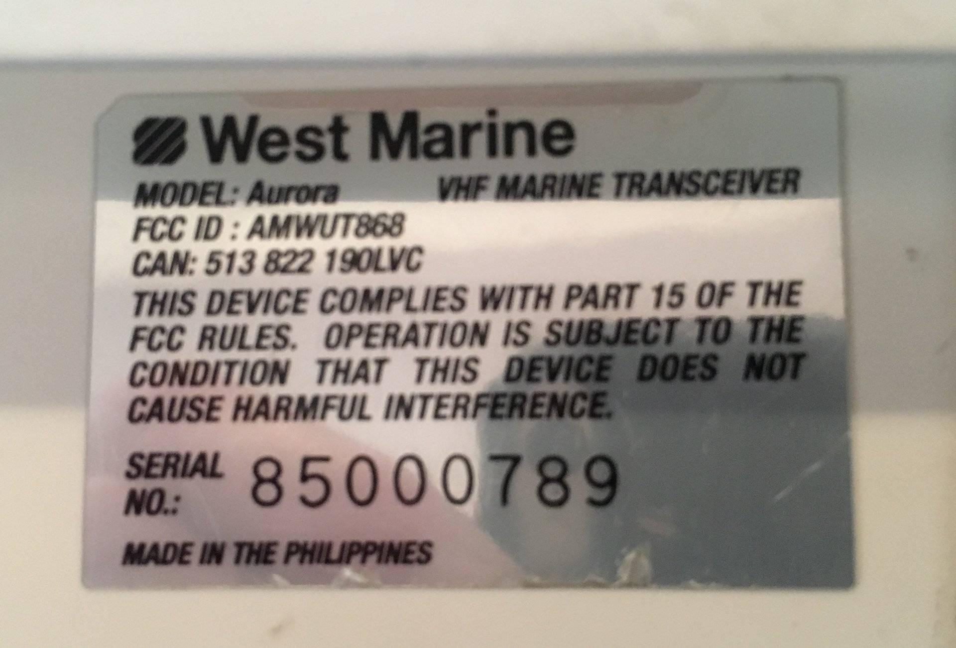 Marine VHF Radio | Bloodydecks