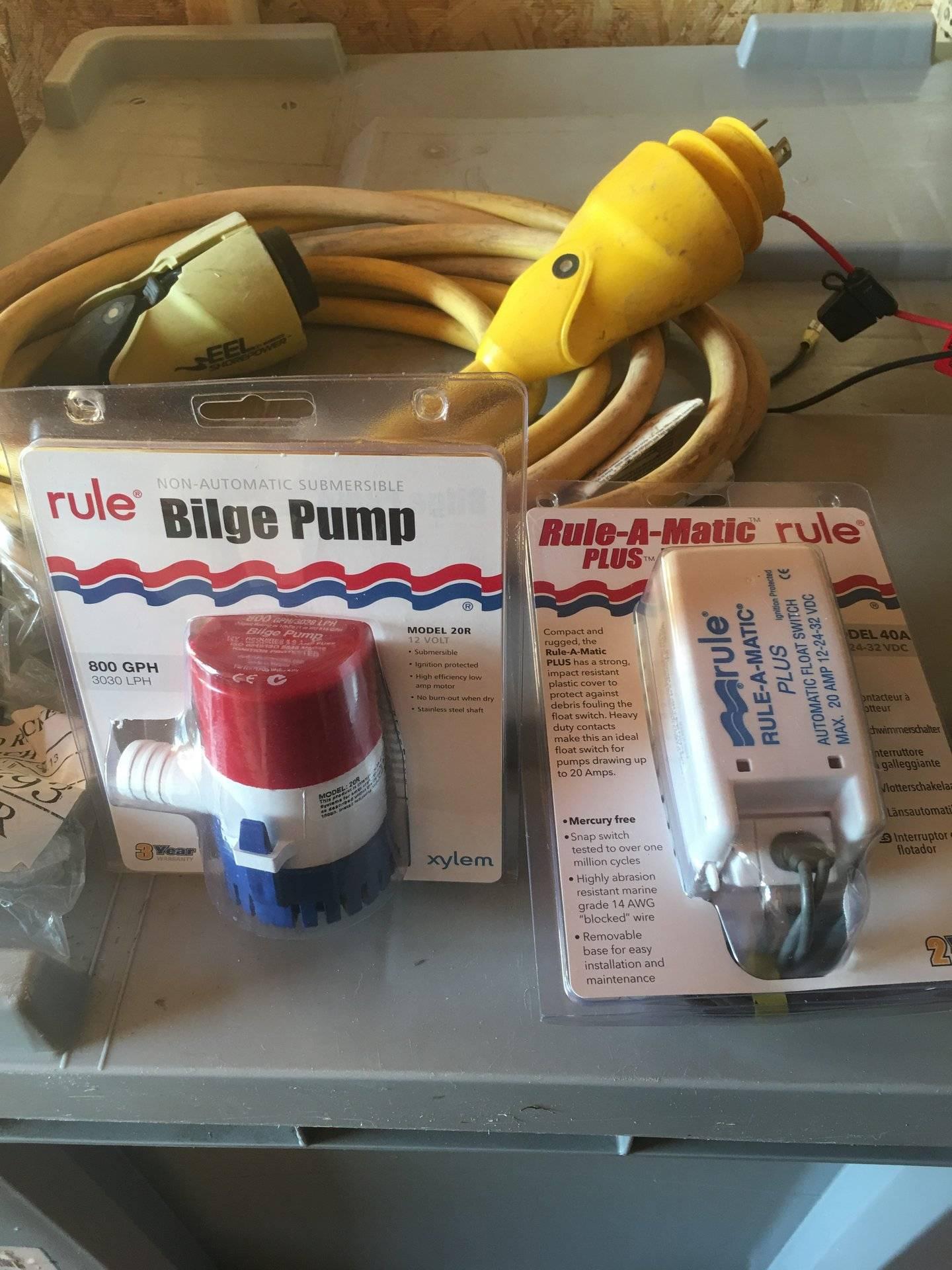 Pumps/ seastar steering   Bloodydecks