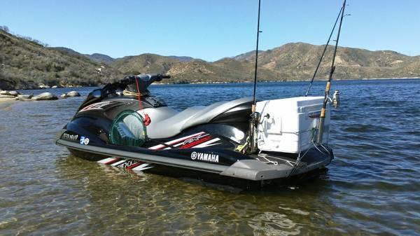 ultimate jetski rod holder fishing rack bloodydecks