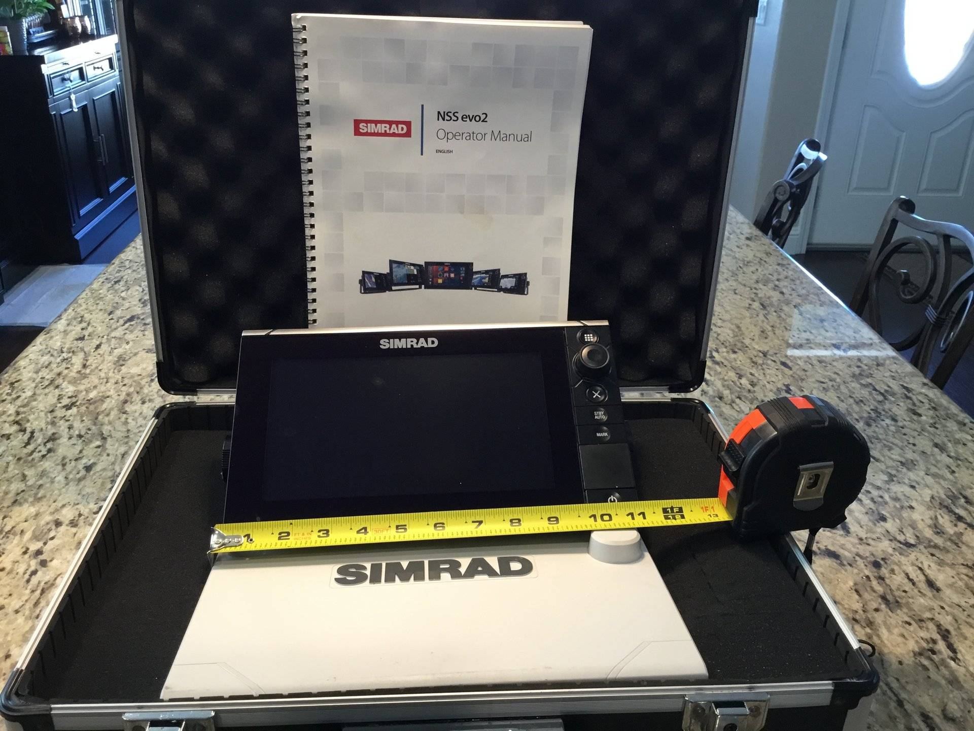 SIMRAD NSS9 EVO 2 WITH TRANSDUCERS $1200 | Bloodydecks