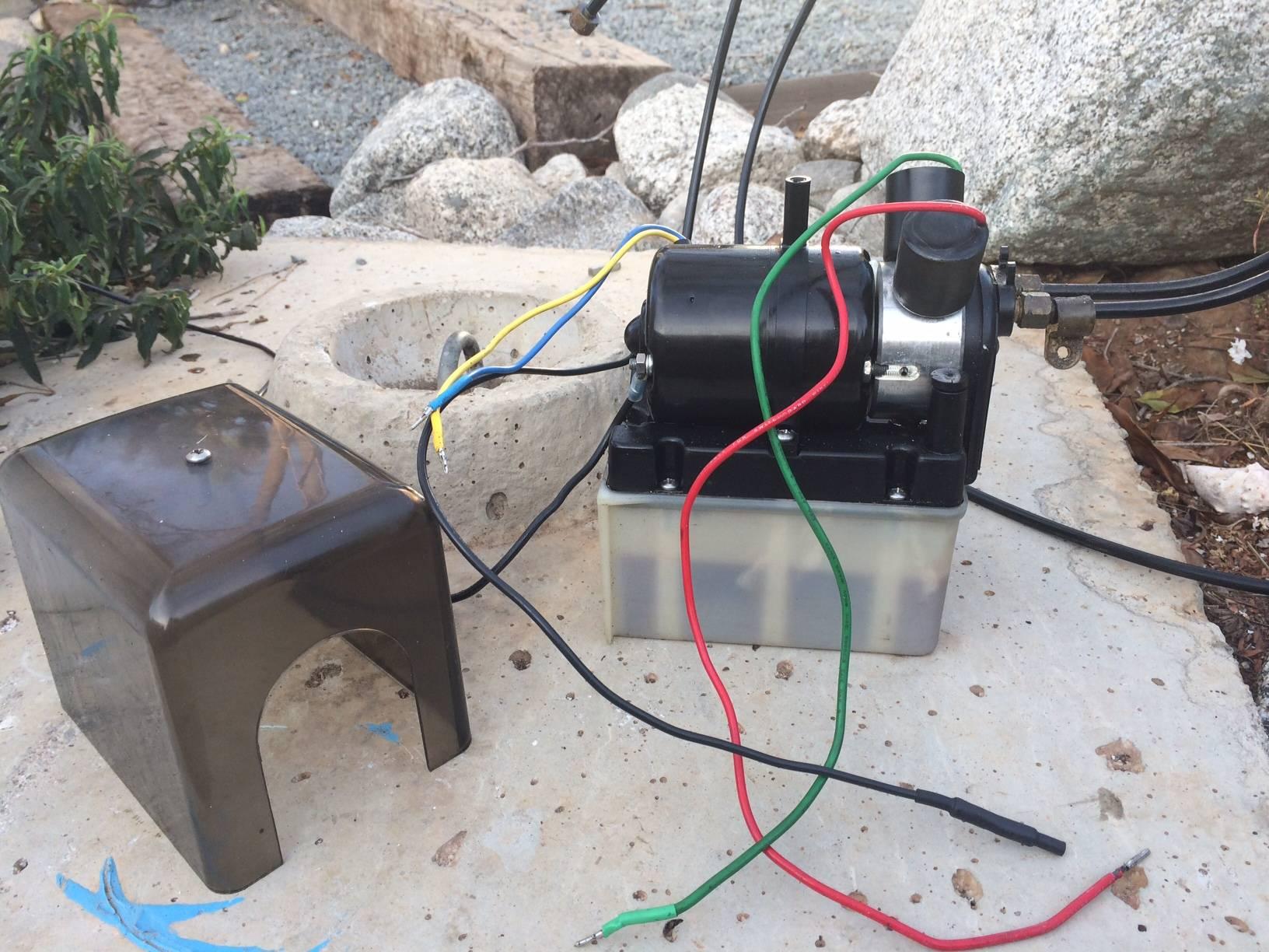 Bennett Hydraulic Trim Tab Power Unit Bloodydecks Wiring Diagram Pictures