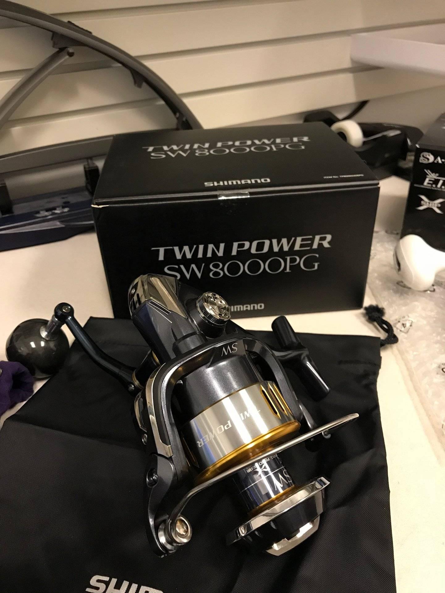 Shimano Twinpower 8000 NEW $540 | Bloodydecks