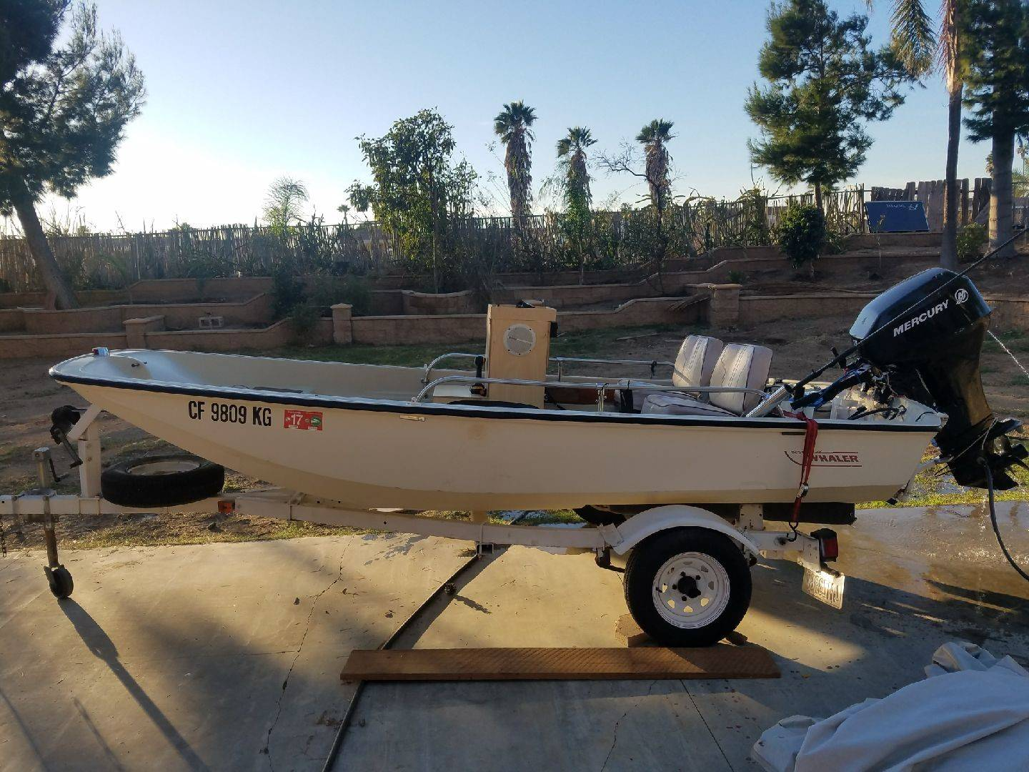 For Sale - WTS: 13 ft Boston Whaler w/ 4 stroke | Bloodydecks