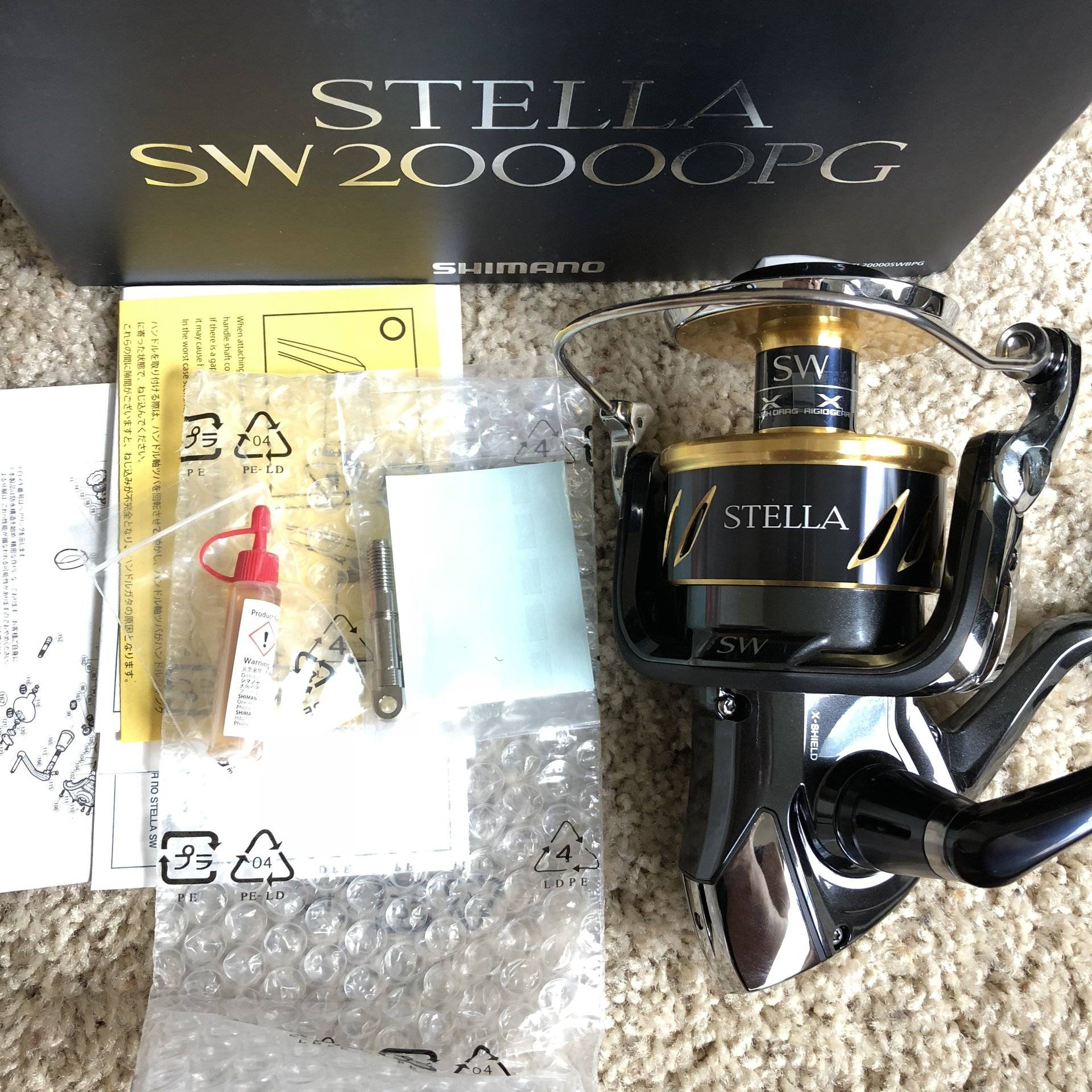 For Sale - Shimano Stella 20000 SW *NIB* latest model