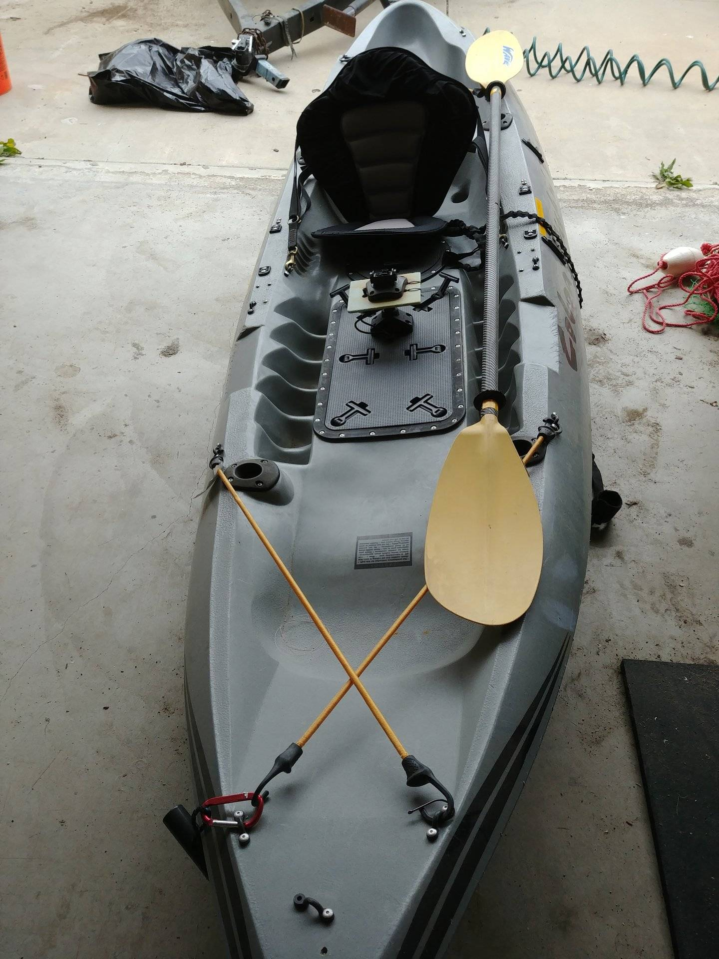 Sold 2 Kayaks For Sale Ascend Fs12t And Cobra Fish N