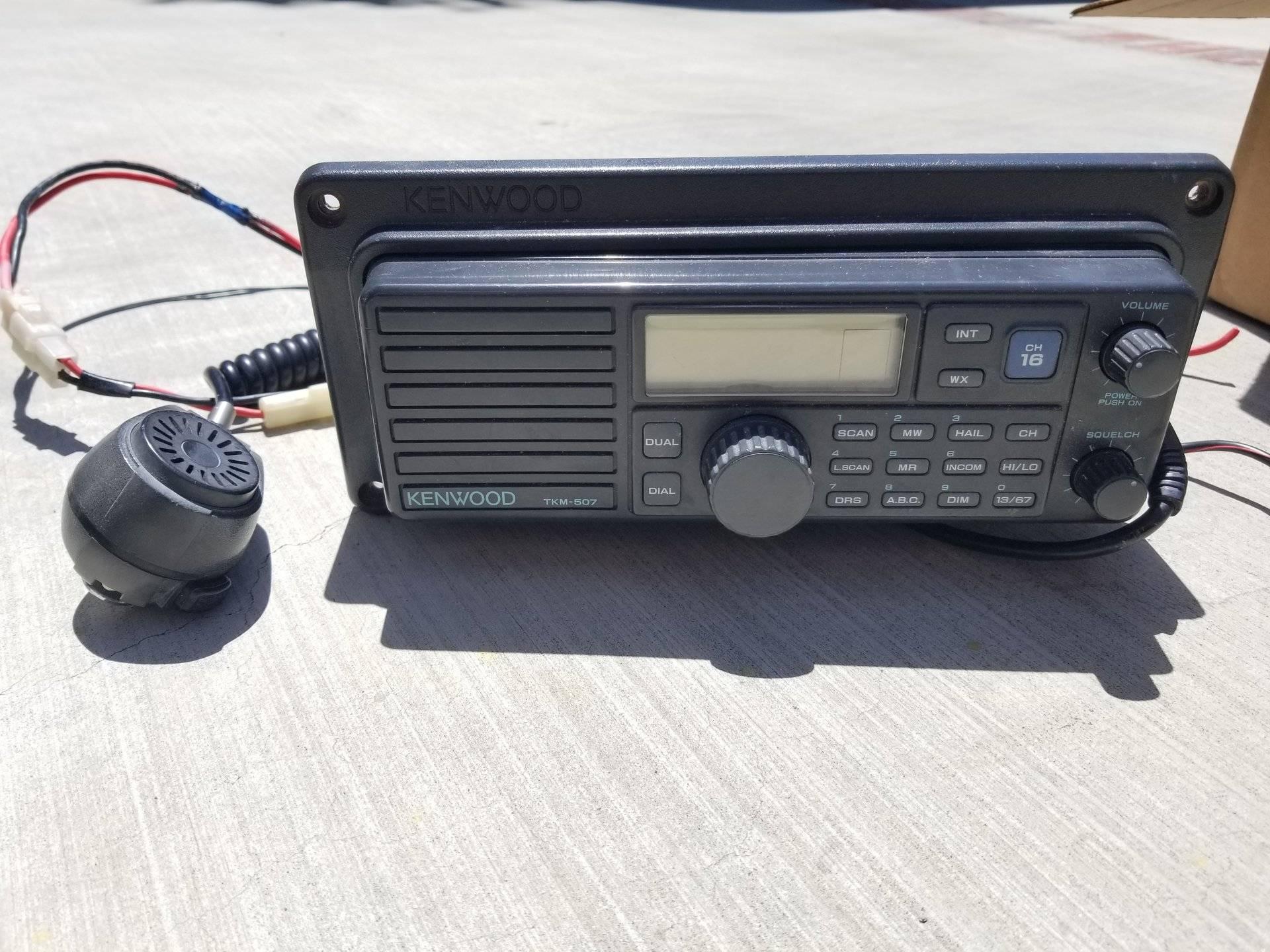 SOLD - Electronics Lot - Simrad NSE 8, 1KW Airmar B260, VHF
