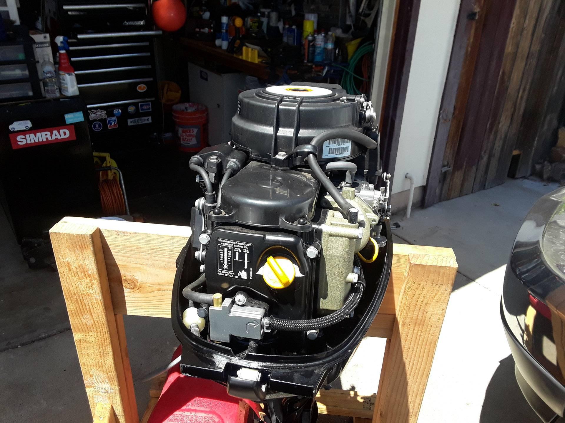For Sale - 2014 Mercury 8 HP 4 Stroke short shaft- Bristol Condition