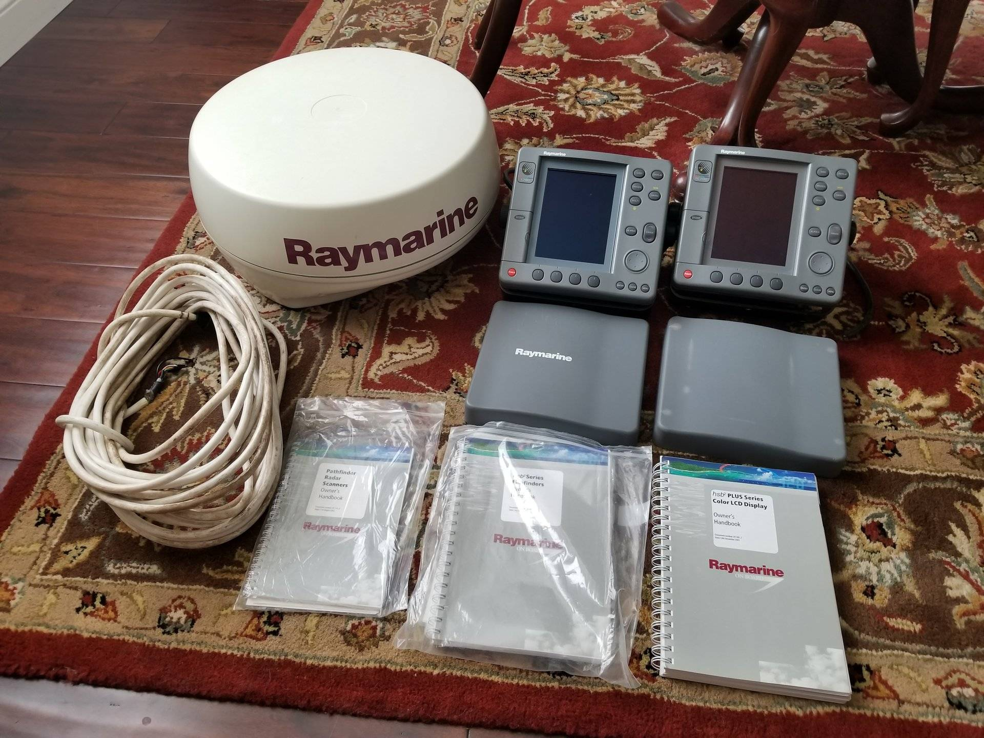 For Sale - Raymarine Radar GPS Fishfinder Package   Bloodydecks