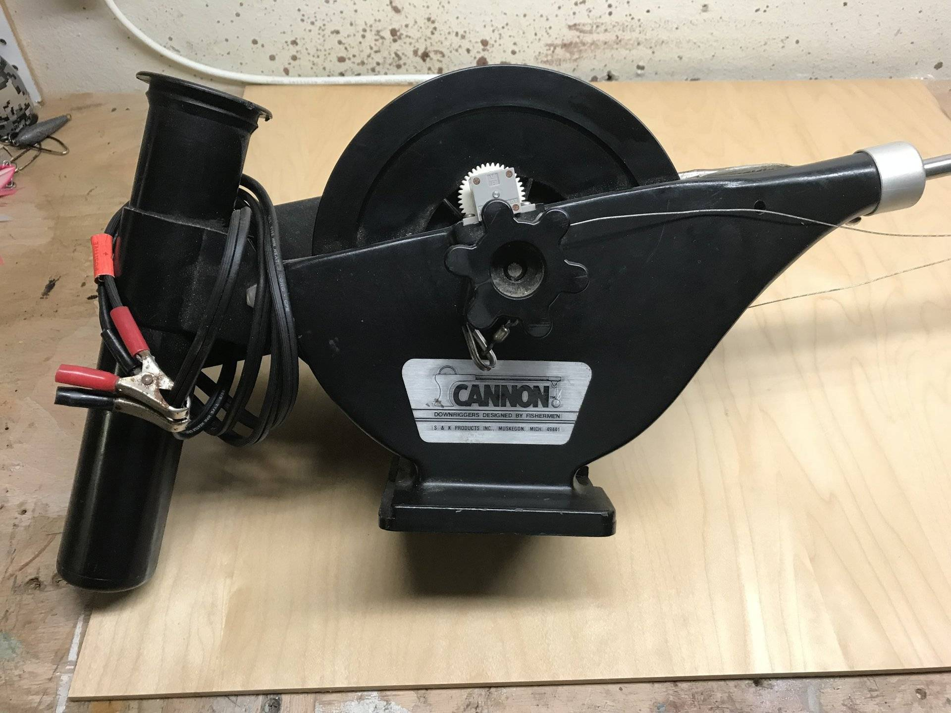 For Sale - Cannon Mini-Mag electric Downrigger | Bloodydecks