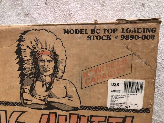 For Sale Big Chief Smoker Mission Viejo Bloodydecks