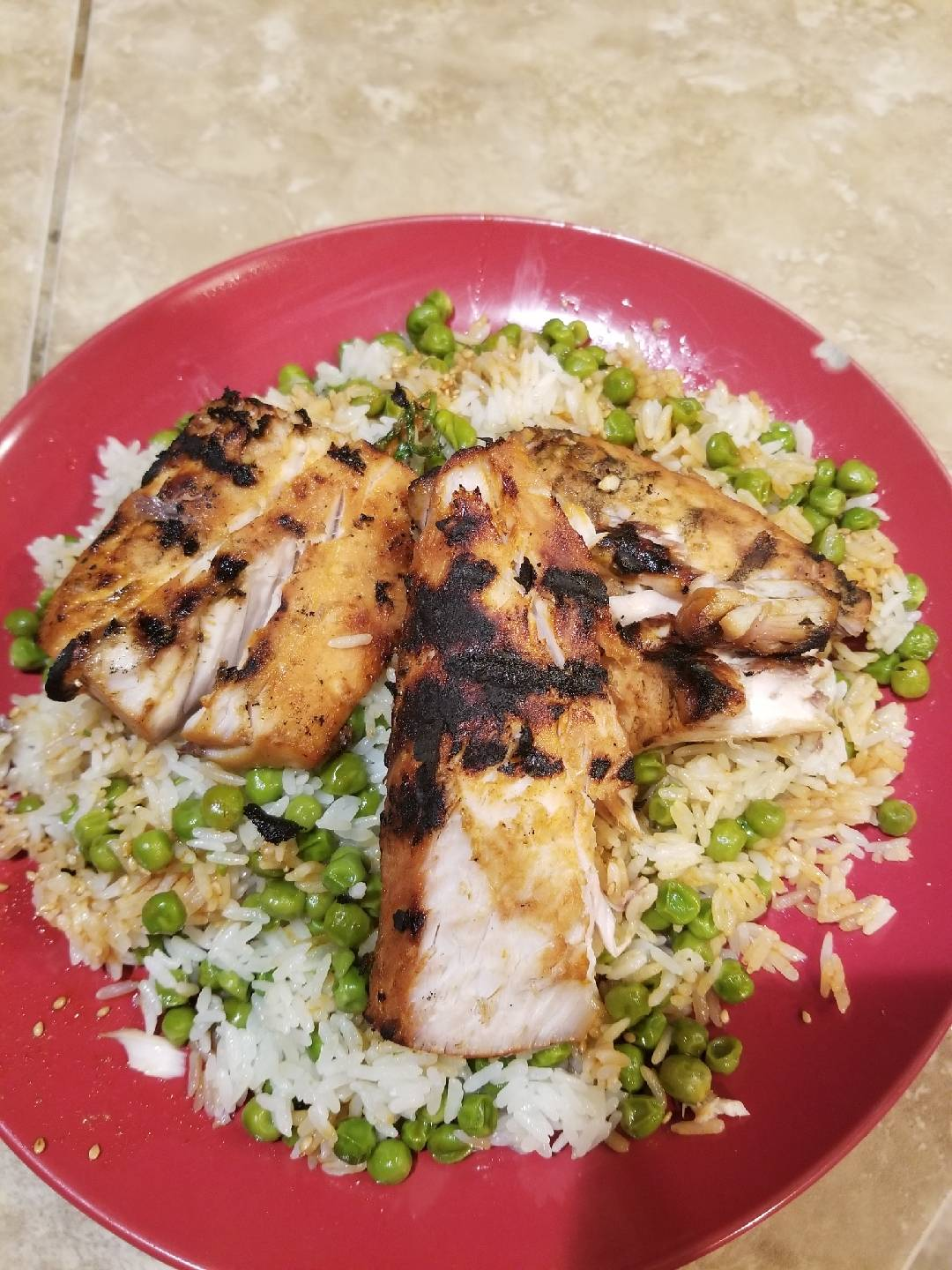 Marinated Grilled Yellowtail with Sesame, Soy Sriracha Rice.jpg