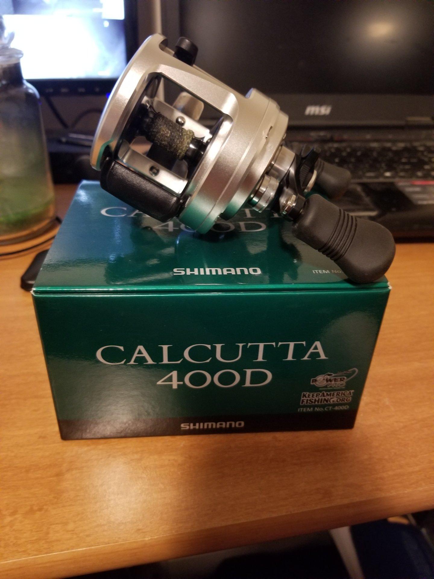 9f1bf488e17 For Sale - Shimano Calcutta 400D 240$ final price then I'm keeping ...