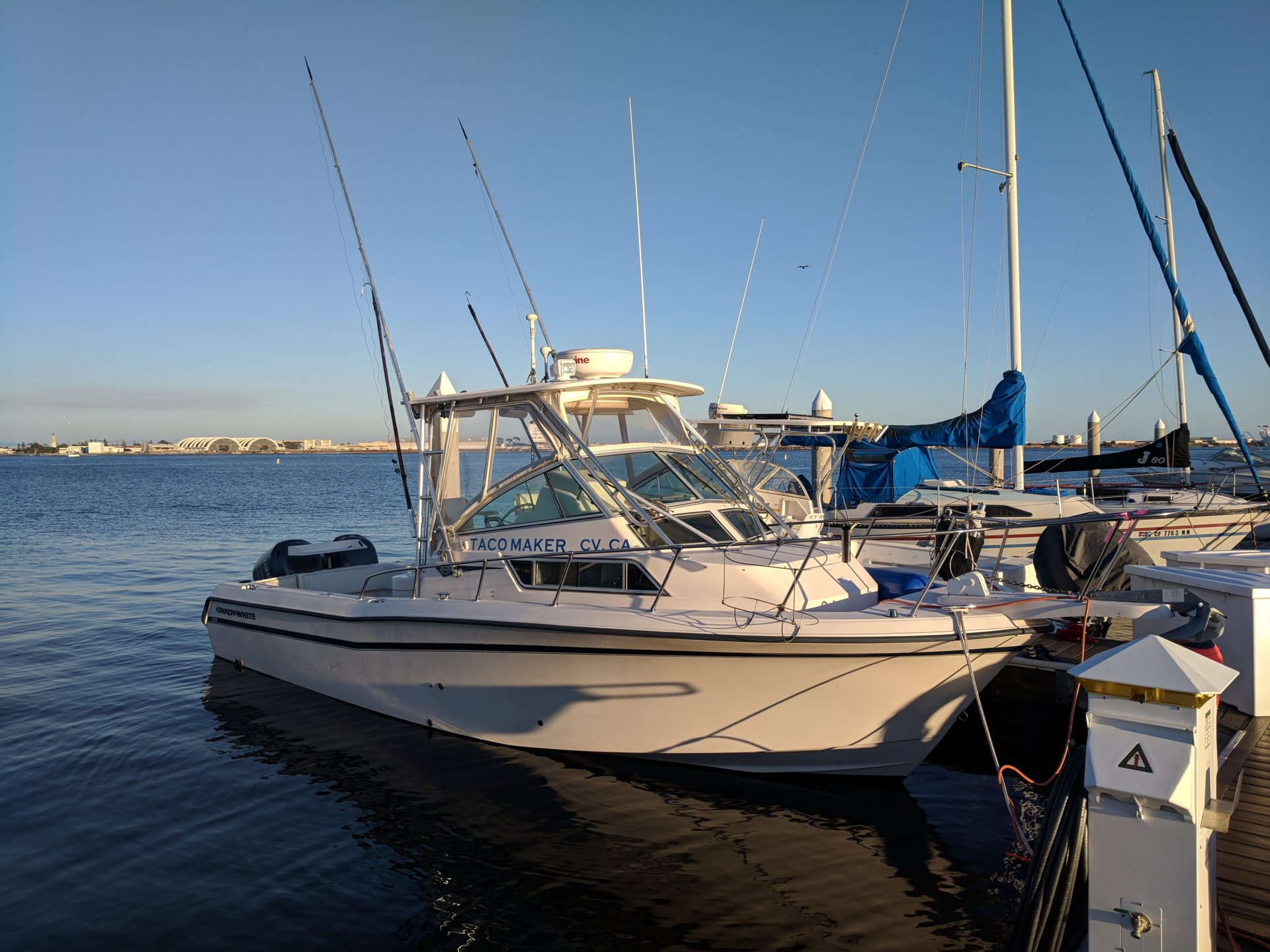 SOLD - 1998 Grady White 272 with 2009 Yamaha Outboards