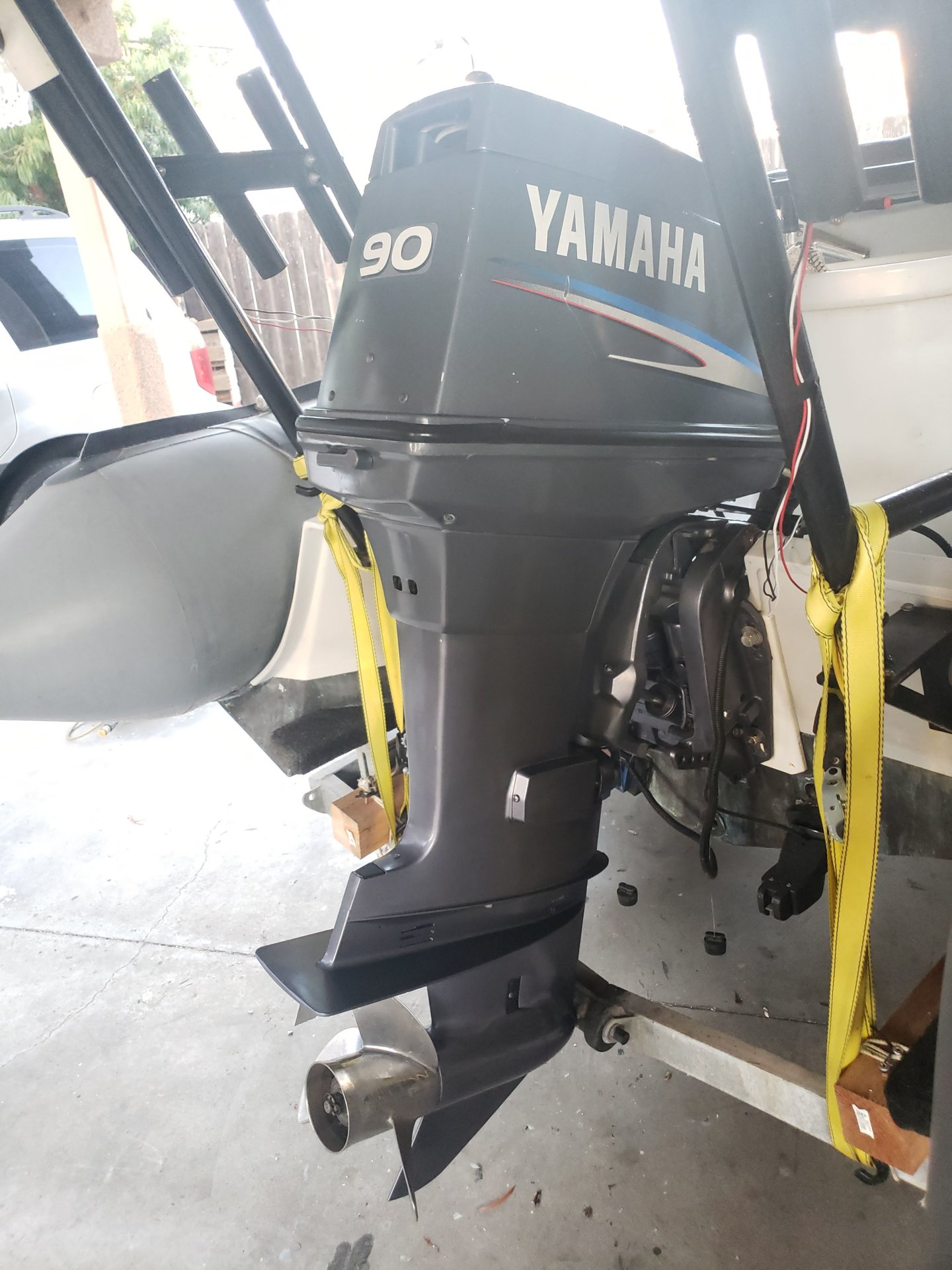 For Sale - Yamaha Outboard motor 90HP with all wiring