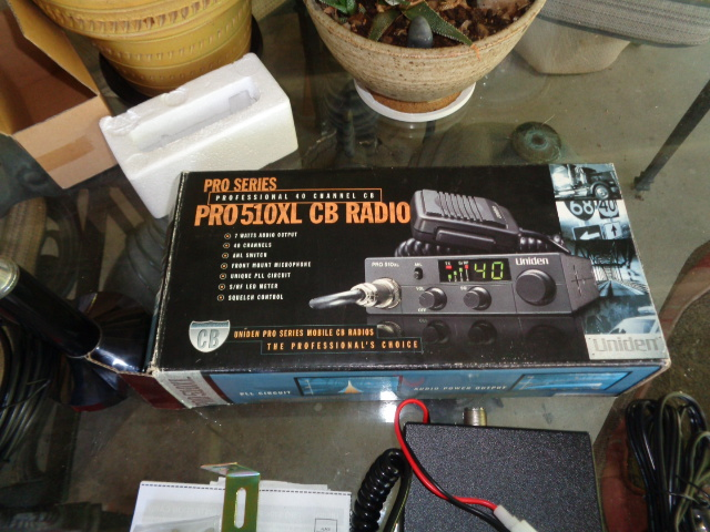 For Sale - Uniden CB Radio with antenna | Bloodydecks