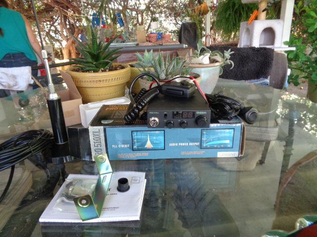 For Sale - Uniden CB Radio with antenna | Bloodydecks