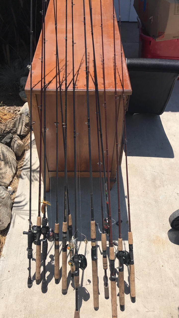 For Sale - G Loomis bass rods for sale   Bloodydecks