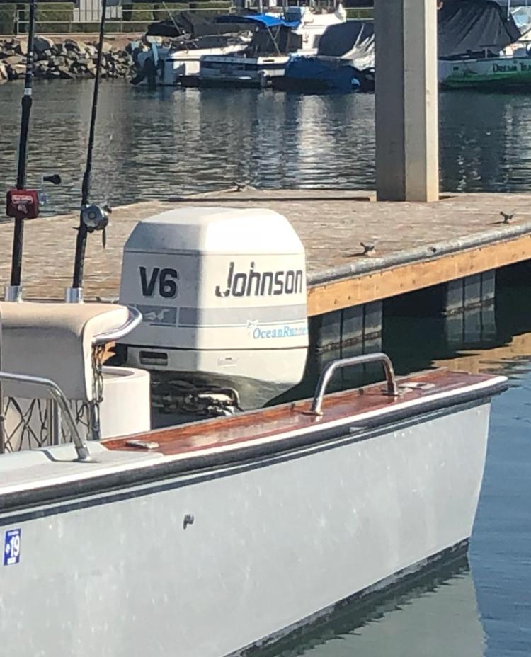 """For Sale - 1995 200hp Johnson Ocean Runner 25"""" Shaft"""