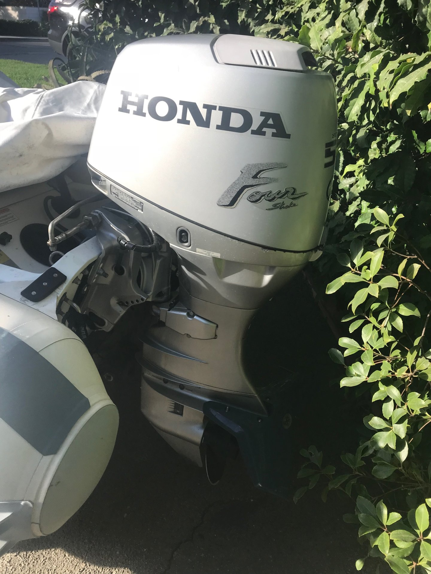 For Sale - Honda 50HP outboard | Bloodydecks