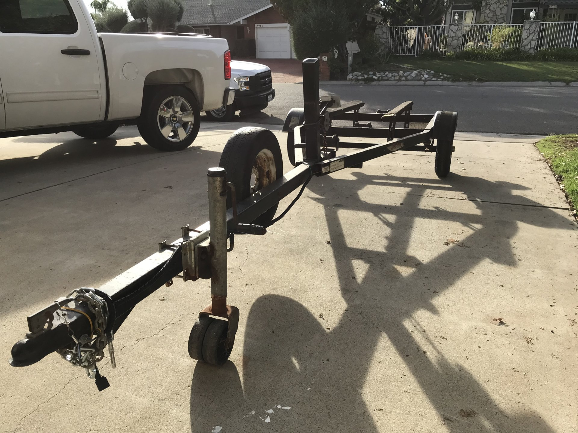 SOLD - Small Used Boat Trailer For Sale | Bloodydecks
