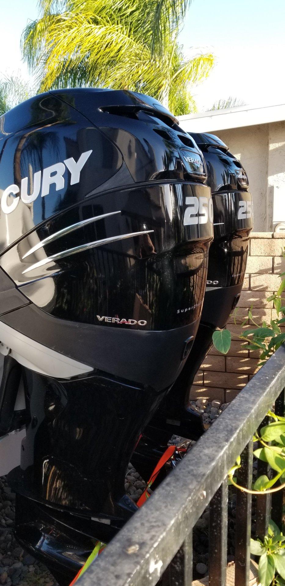 For Sale - 2006 Mercury Verado 250 HP Engines $16,500