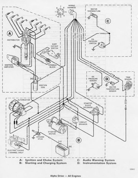 Mercruiser Starter Wiring Diagram