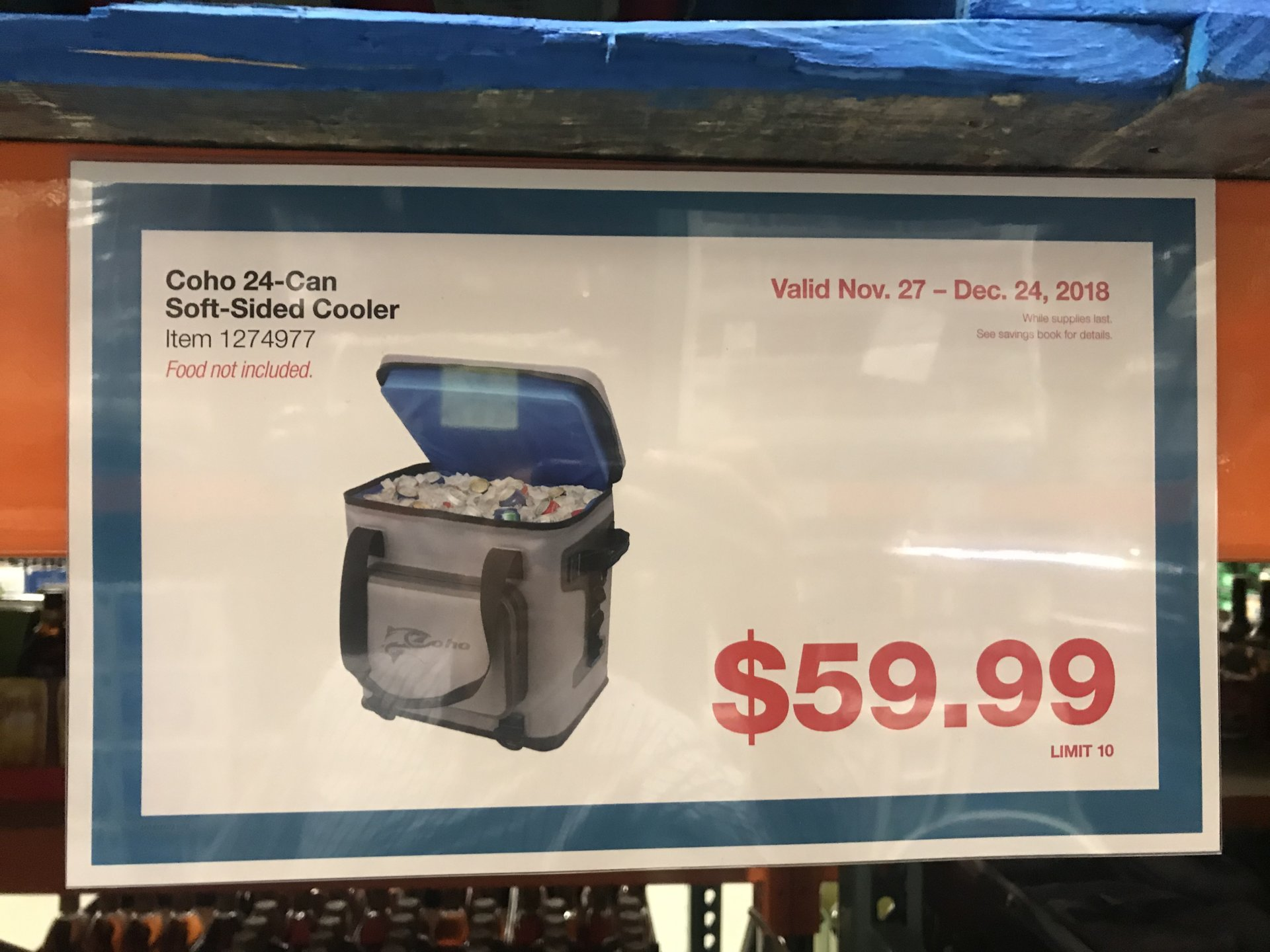 New Costco Coho Soft Cooler Bloodydecks