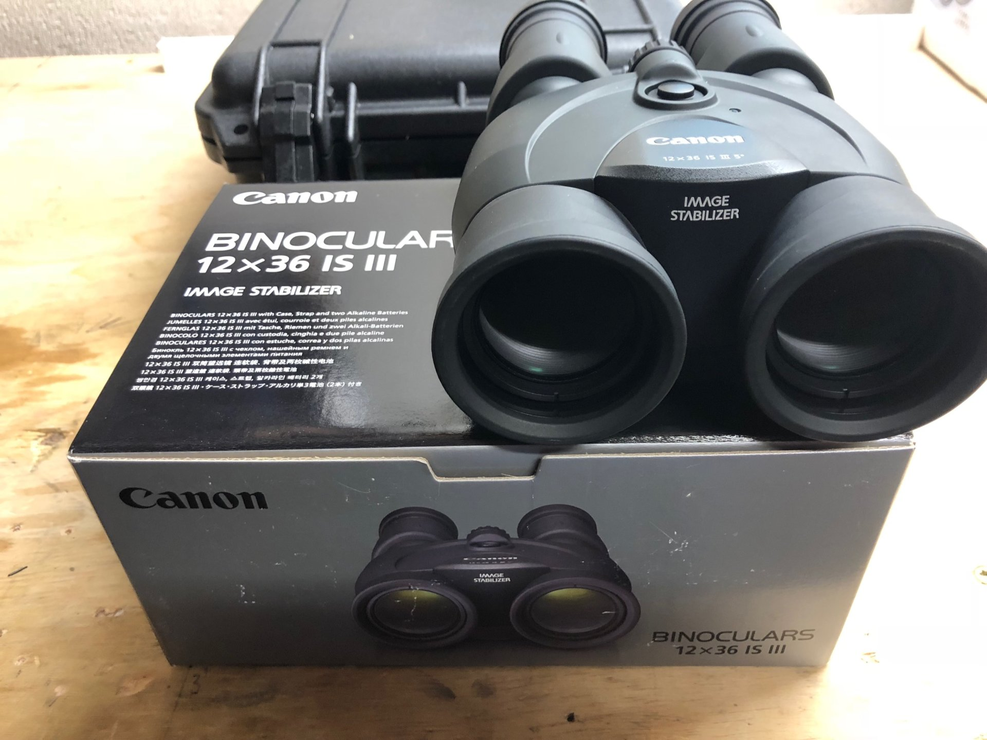 For Sale Canon 12x36 Image Stabilized Binoculars Bloodydecks