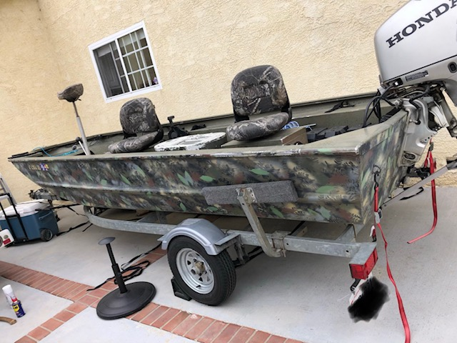 For Sale - 2005 Tracker Grizzly 1754 with 40hp Honda 4