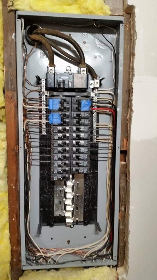 Siemens 200 Amp Panel