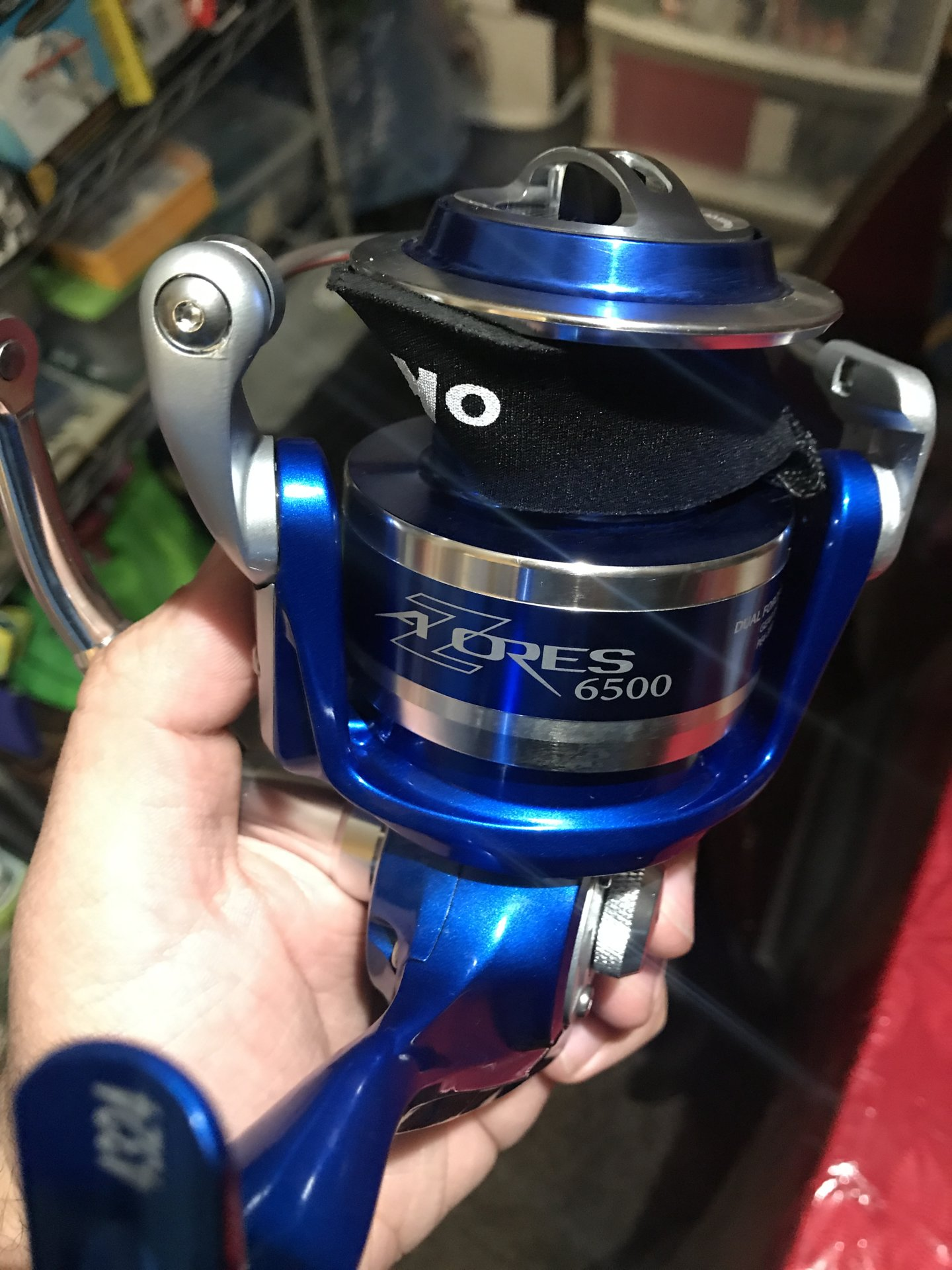 It's Here! Okuma's Blue Azores For 2019! | Bloodydecks