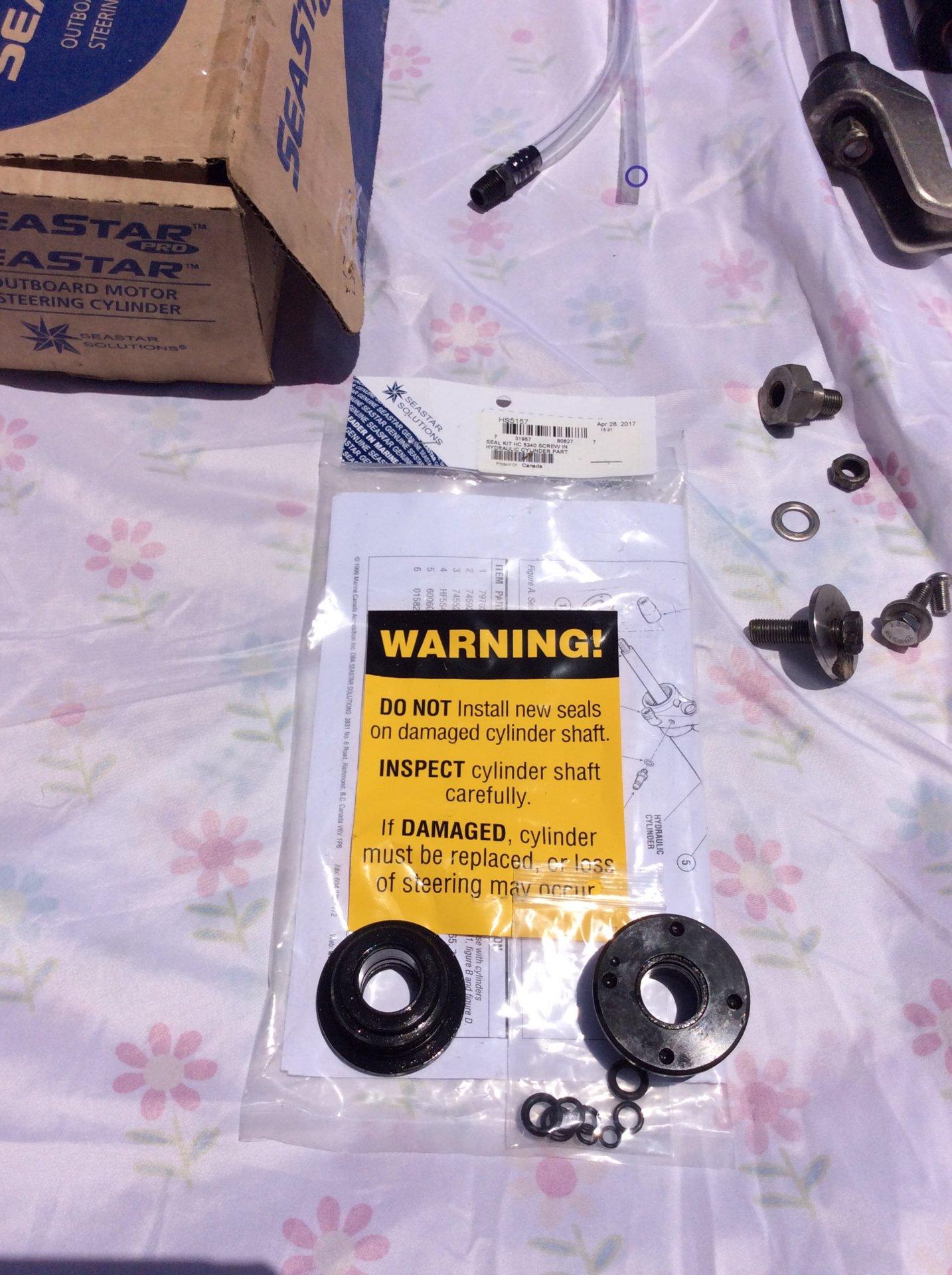 For Sale - SeaStar Hc5358 power steering cylinder system