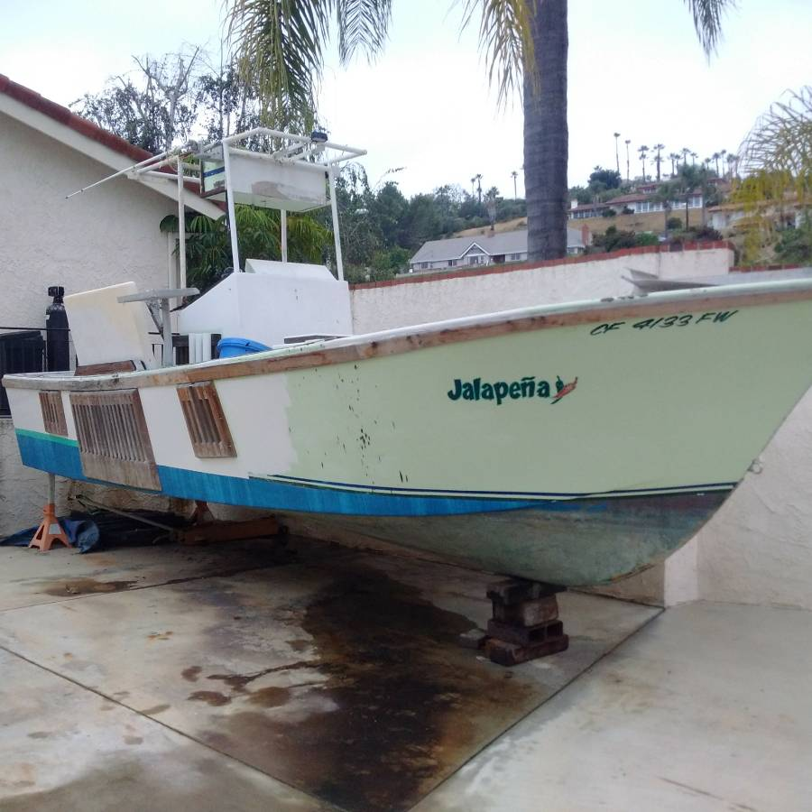 For Sale - 26 commercial superpanga hull | Bloodydecks
